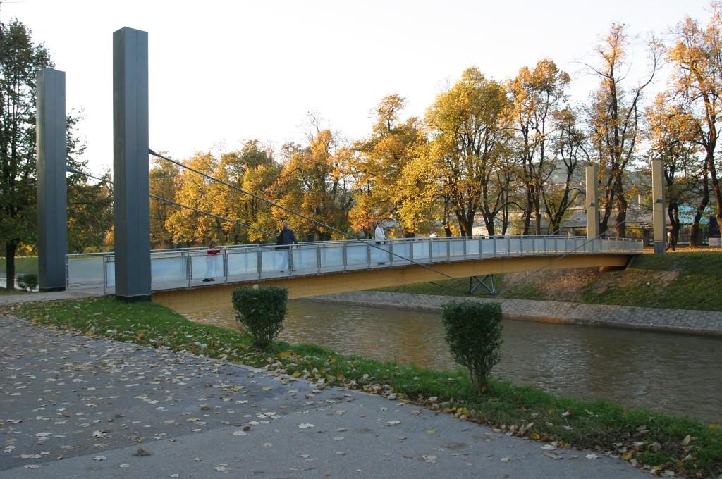 Ars Aevi Bridge tegnet af Renzo Piano