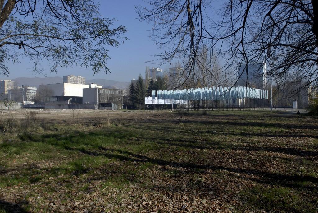 Byggegrunden som Ars Aevi har fået af kommunen