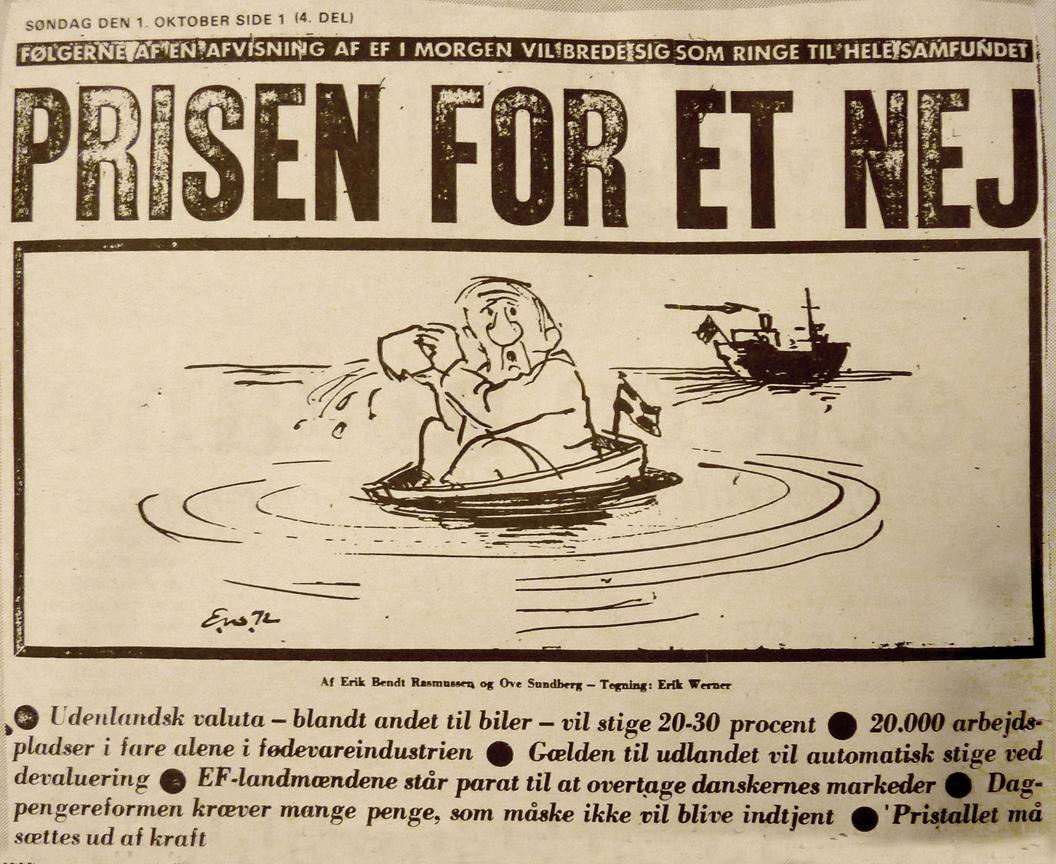 Jens Otto Krag – strategen, der købte sig til et ja i 1972 - Magasinet Europa