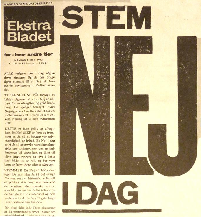 ef valg 1972