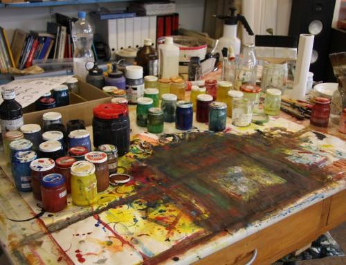 Dilemmaet i atelieret: Kunst eller overlevelse