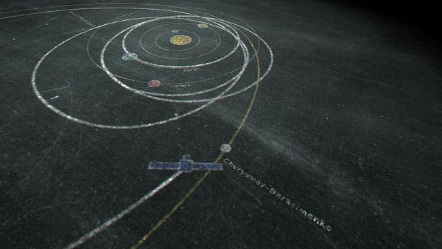 ESA-sonden Rosettas rumodyssé