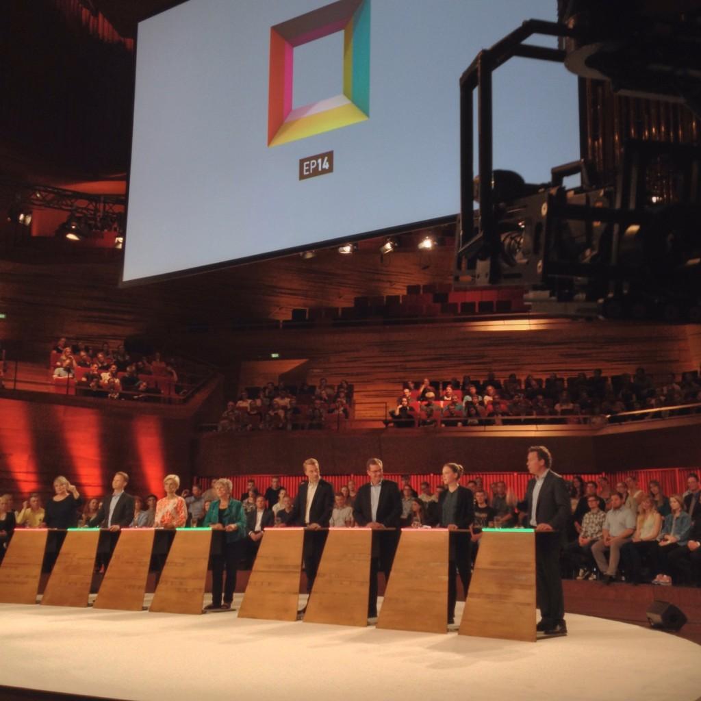 Demokratiets aften i DR havde onsdag aften.. (Foto: Rasmus Leander Nielsen)