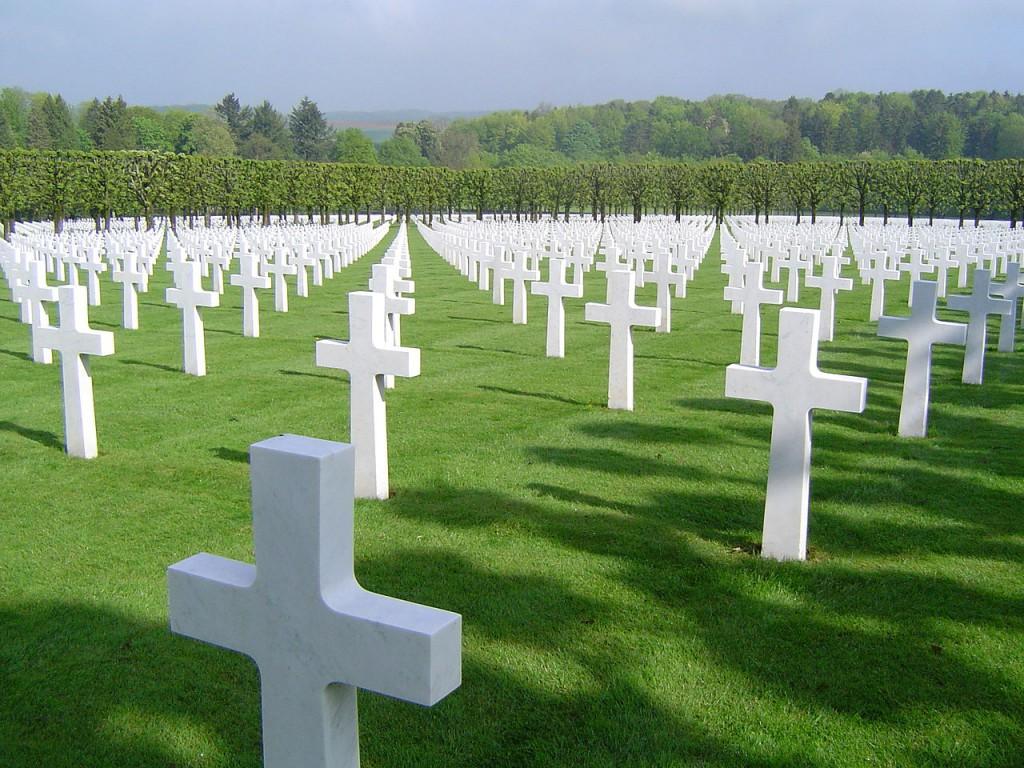 Kirkegård og mindesmærke for Første Verdenskrig i Meuse-Argonne, Frankrig