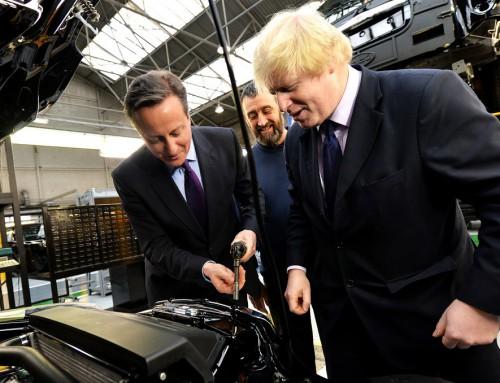 Borgmester Boris Johnson: Vejen ned fra Elfenbenstårnet