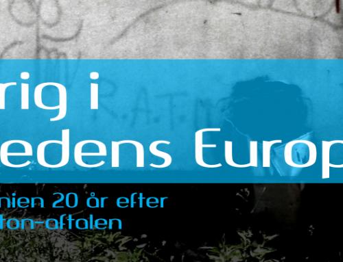 Tema om Bosnien og Dayton-aftalen som e-bog