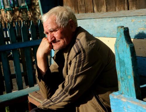 Fanget i krigszonen i Ukraine