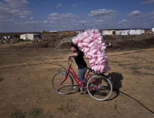 Da Amsterdam sendte 10.000 cykler til Jordan