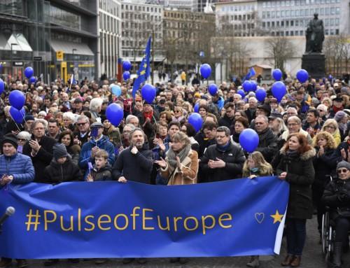 De demonstrerer FOR noget (og så er det endda for EU)