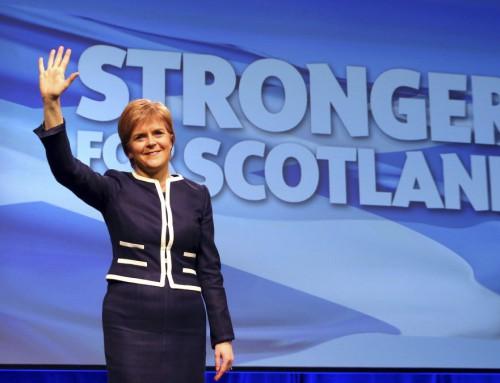 Den skotske dæmon er ude af den britiske flaske