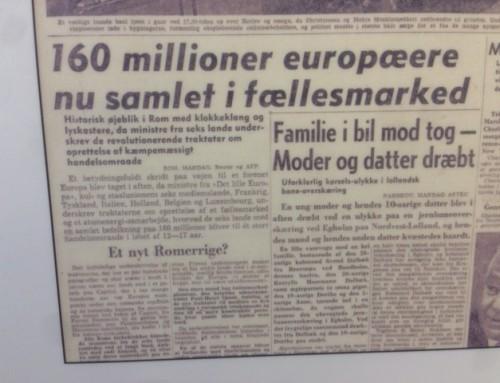 Dengang politikere og medier så fællesmarkedet som en redning