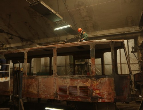 Sporvognsremisen i Lviv
