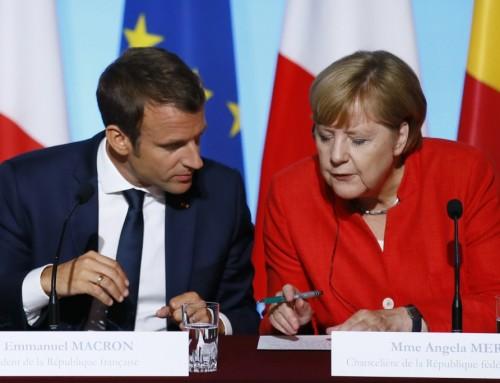 Succes for Merkel og Macron kan tage brodden af de mange kriser
