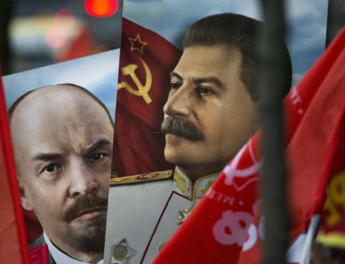 Det kommunistiske paradis skulle nås med alle midler