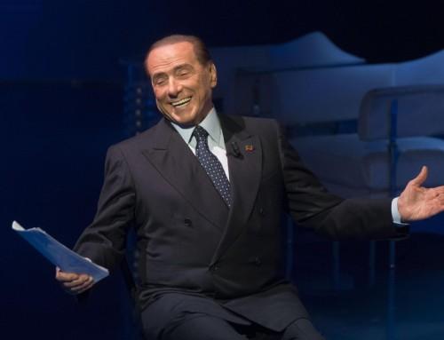 Berlusconi er tilbage i rampelyset og italiensk politik