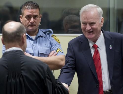 Med tiden vil vigtigheden af dommen mod Mladic for alvor stå klart