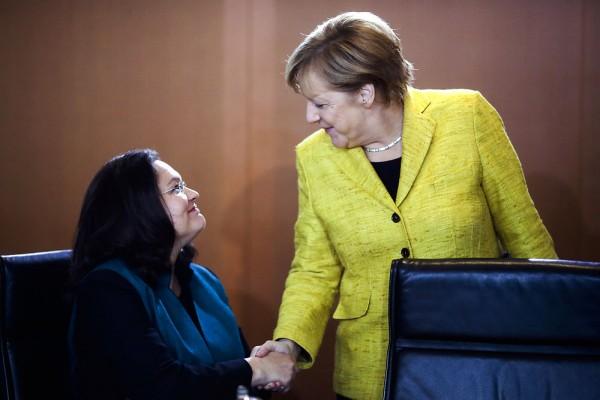Koalitionen klar i tyskland
